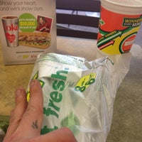 Photo taken at Subway by Gary D. on 2/7/2013