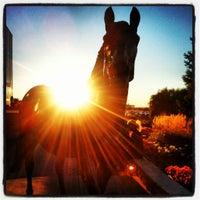 Photo taken at Woodbine Racetrack by Jenny-Lee L. on 9/15/2012