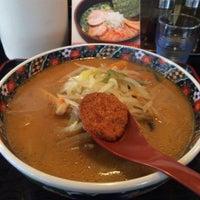 8/21/2015 tarihinde Hiro Y.ziyaretçi tarafından ラーメン天狗山 名取店'de çekilen fotoğraf