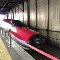 Photo taken at JR 盛岡駅 by Hiro Y. on 10/18/2013
