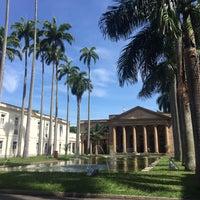 Photo taken at Palácio Itamaraty by Bárbara A. on 1/24/2017