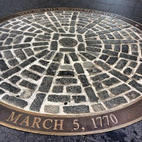 Foto tirada no(a) Boston Massacre Monument por Ryan A. em 11/25/2012