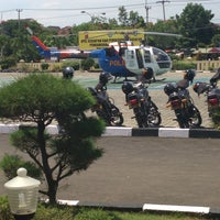 Photo taken at POLRES Indramayu by edyp on 12/9/2014