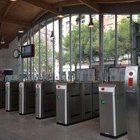Photo taken at Estación de Goya by elarnesss on 10/6/2012