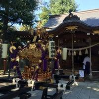 Photo taken at 草加神社 by BronzeParrot on 10/15/2016