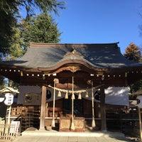 Photo taken at 草加神社 by BronzeParrot on 1/7/2017