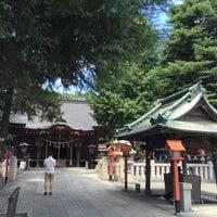 Photo taken at 草加神社 by BronzeParrot on 7/30/2016
