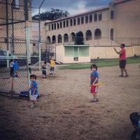 Photo taken at Parque Gilberto Rodríguez (Luis Muñoz Rivera) by Francis V. on 11/16/2013