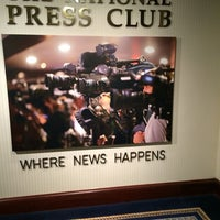 Photo taken at The Reliable Source at The National Press Club by Bonieke R. on 6/17/2014