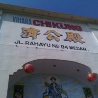 Photo taken at Vihara ChiKung Medan by William T. on 5/24/2013