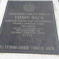 Photo taken at Badan Perpustakaan, Arsip dan Dokumentasi Provinsi Sumatera Utara by William T. on 3/20/2014
