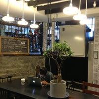 Photo taken at Alfred Coffee & Kitchen by lilgugu on 6/29/2013