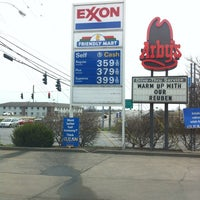 Photo taken at Exxon by Becky on 4/1/2013