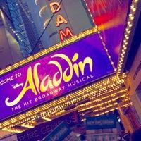 Photo prise au Aladdin @ New Amsterdam Theatre par Mashael💆🏻مشاعل @. le9/22/2017