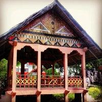 Photo taken at Taman Ratu Safiatuddin by HULUQ4INDONESIA on 6/20/2013