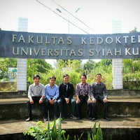 Photo taken at Fakultas Kedokteran Unsyiah by HULUQ4INDONESIA on 1/29/2016