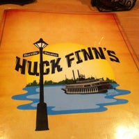 Photo taken at Huck Finn's Cafe by Anna R. on 2/27/2013