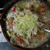 Photo taken at Pozole Estilo Guerrero by Den Y. on 1/18/2013