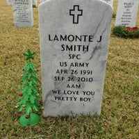 Photo taken at Port Hudson National Cemetery by Marta M. on 12/25/2012