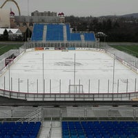 Photo taken at The Star Pavilion at Hersheypark Stadium by Mikeymike on 1/15/2013