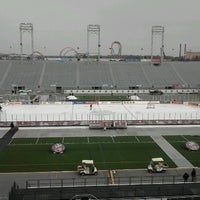 Photo taken at The Star Pavilion at Hersheypark Stadium by Mikeymike on 1/17/2013