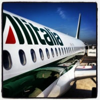 Photo taken at Leonardo da Vinci–Fiumicino Airport (FCO) by Anar A. on 5/20/2013