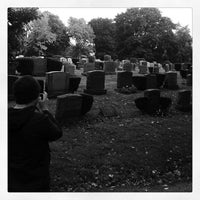 Photo taken at Mt Pleasant Cemetary by Jon-o G. on 10/14/2012