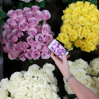 Photo taken at Flower District by Kate Y. on 6/10/2017