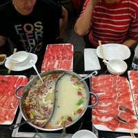 Photo taken at Little Sheep Mongolian Hot Pot by Kate Y. on 2/19/2017