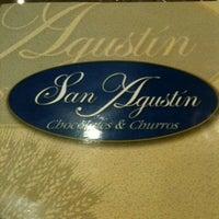 Photo taken at San Agustín by Israel O. on 12/23/2012