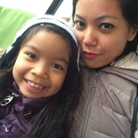 Photo taken at Chinatown Bus (Flushing) by Cristina D. on 1/5/2014