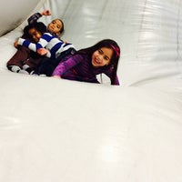 Photo taken at Bounce U by Cristina D. on 12/26/2013