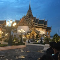 Foto tirada no(a) Dusit Maha Prasat Throne Hall por 9 แ. em 8/14/2017