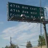 Photo taken at Hwy 99 47th Ave Exit by Sinister Sweet on 3/30/2013