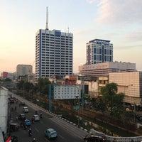 Photo taken at Gedung Harian Poskota by Muheir R. on 8/27/2013