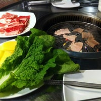 Photo taken at Blue Garden Korean BBQ Restaurant by Berenice on 12/8/2012