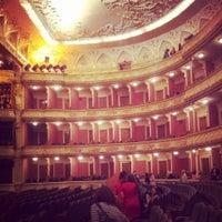 Снимок сделан в Театр им. Ивана Франко пользователем Julia L. 4/20/2013