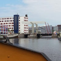 Photo taken at Tesselsebrug by Petra S. on 7/30/2014