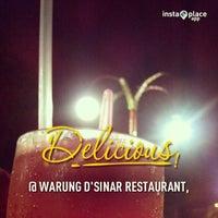 Photo taken at Warung D'Sinar Restaurant by Adam M. on 2/17/2013