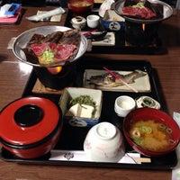 Photo taken at お食事の庵 基太の庄 by Tomoko K. on 2/7/2015