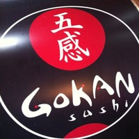 Photo taken at Gokan Sushi Lounge by André D. on 11/14/2012