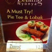 Photo taken at Penang Nyonya by Kidd R. on 2/17/2013