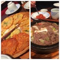 Photo taken at Jeonju Bibimbap Korean Restaurant by Robert W. on 12/31/2014