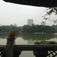 Photo taken at Thủy Tạ by Robert W. on 12/8/2012