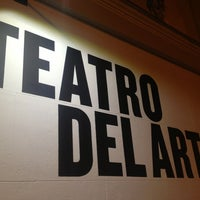 Photo taken at Teatro Del Arte by Lara E. on 3/15/2013