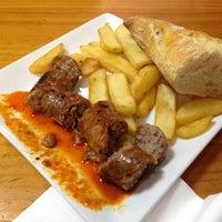 Photo taken at Restaurante Sidreria Los Lagos by Lara E. on 1/26/2014