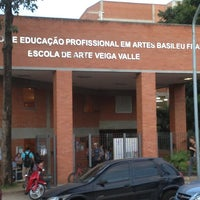 Photo taken at Teatro Escola Basileu França by Thiago H. on 6/17/2013