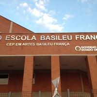 Photo taken at Teatro Escola Basileu França by Thiago H. on 9/25/2013