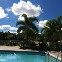 Photo taken at The Pool At The Resort by Roxana L. on 10/11/2013