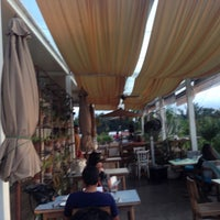 Photo taken at Om Made Cafe by Hemant S. on 10/26/2014
